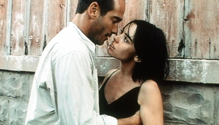 Jean-Marc Barr et Élodie Bouchez